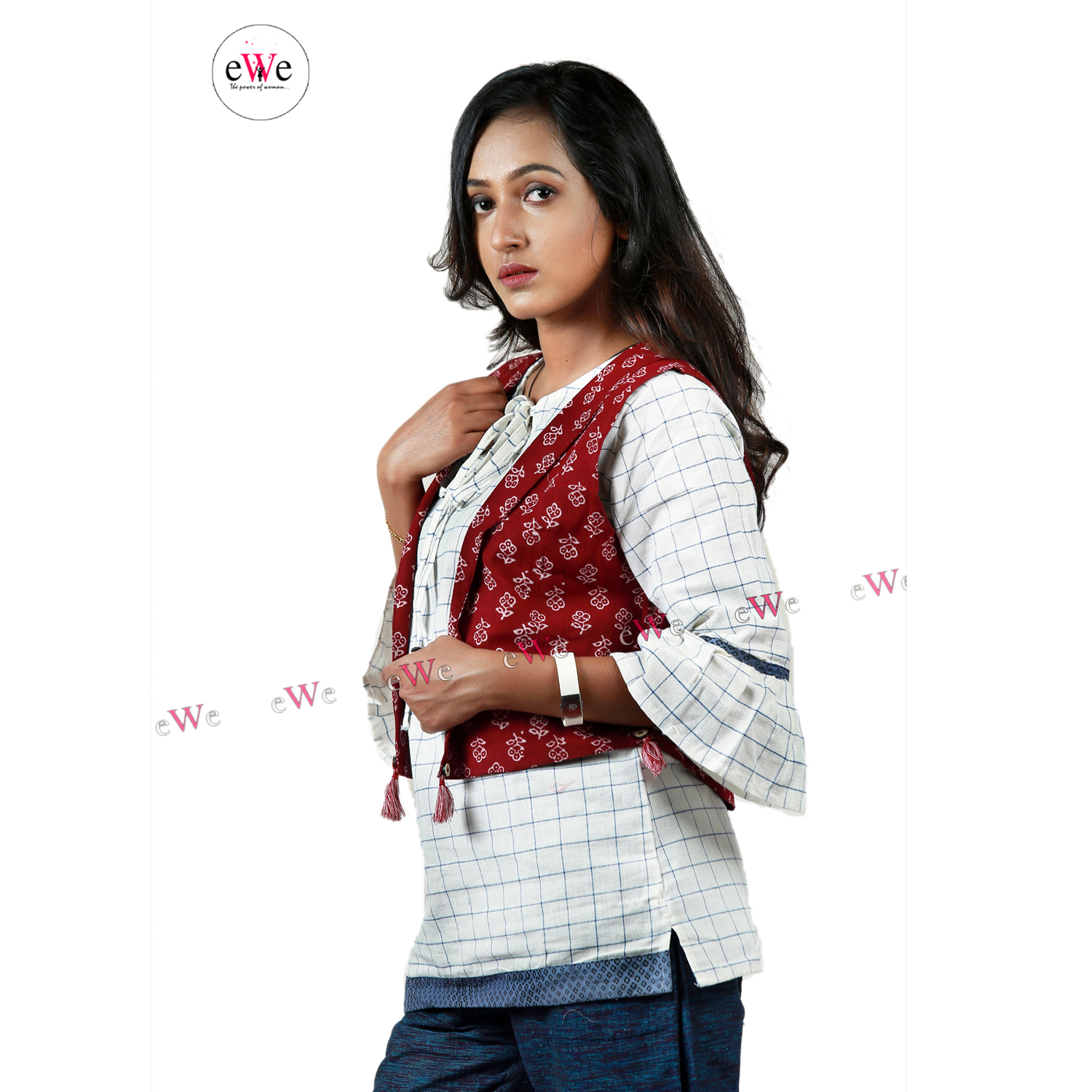 Khadi Ladies Jacket