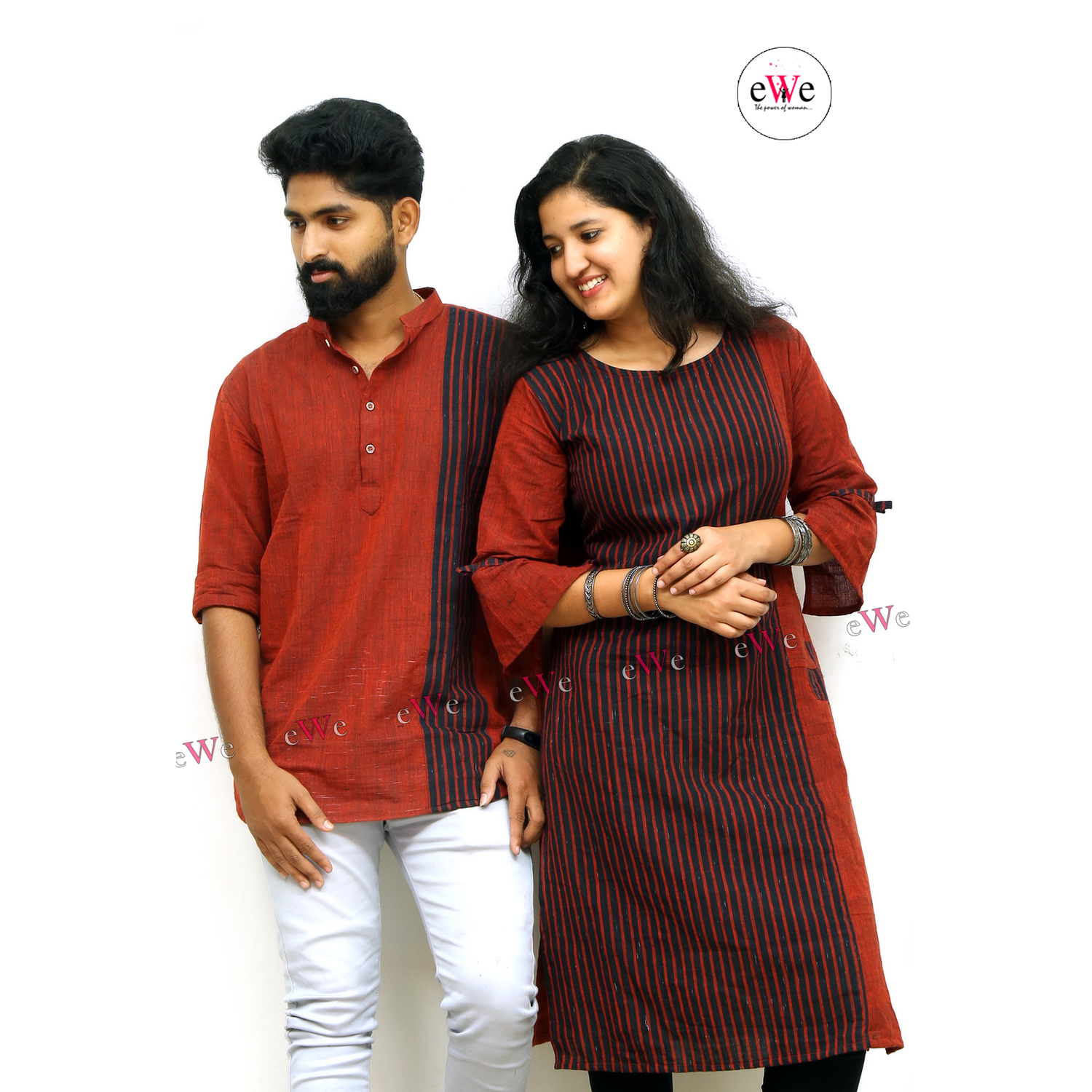 Khadi Couple Combo