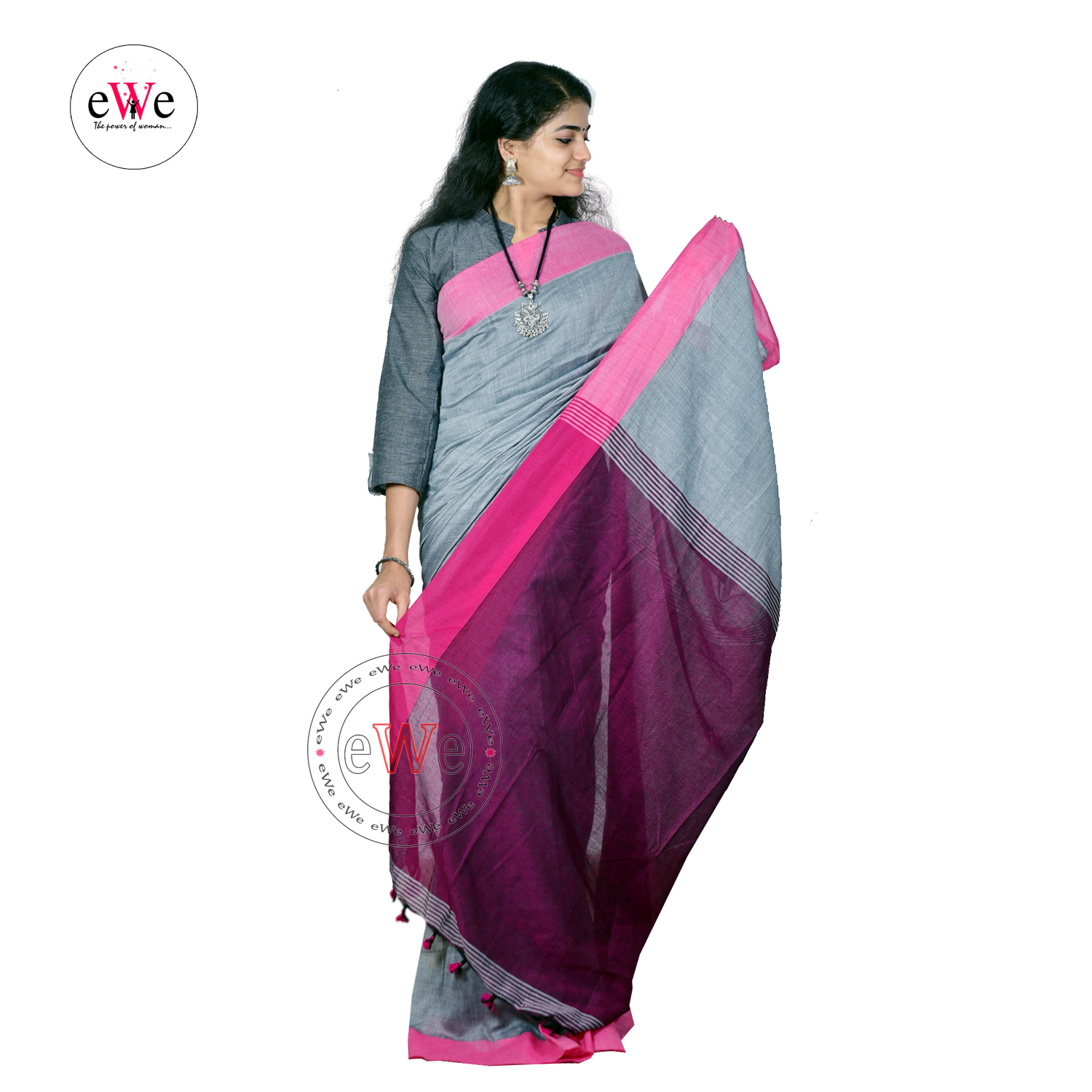 Khadi Design Saree
