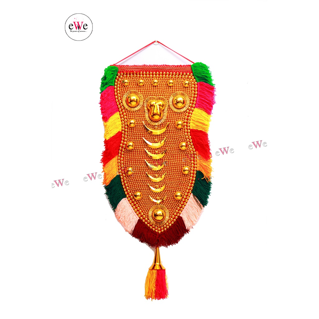 Nettipattam Elephant Caparison Wall hangings for Interior Traditional Home Decor Handcrafted showpiece